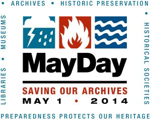 MayDay logo from the Society of American Archivists.