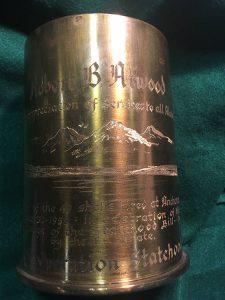 Statehood howitzer shell